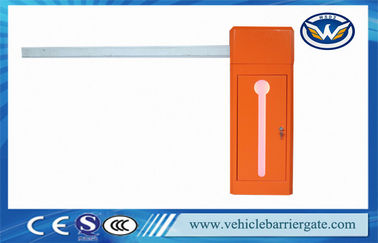 China Computer Control LED Direction parking lot arm gate Retractable Boom supplier