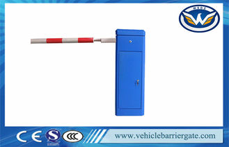 China Blue Intelligent Barrier Gate With Loop Detector and Red Alarm Light supplier