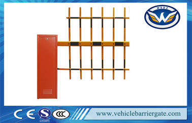 China Access Control  AC110 / 220V  Electric Barrier Gate For Parking System supplier