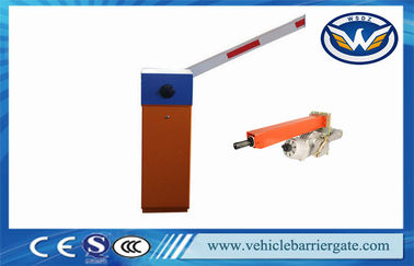China Parking System 4S Automatic Barrier Gate With Loop Detector / Photocell supplier