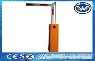 China Articulated Boom Security Car Park Barriers With 4.5 meters 90 Degree supplier