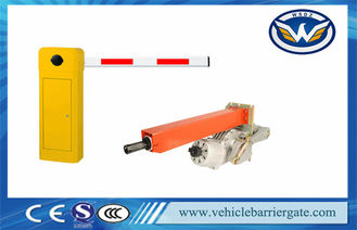 Yellow High Speed 0.6s Car Park Barriers Boom Barrier Gate For Highway
