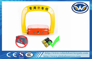 China Automatic 180 Degree Anti Collision Car Parking Locks Remote Control By Phone supplier