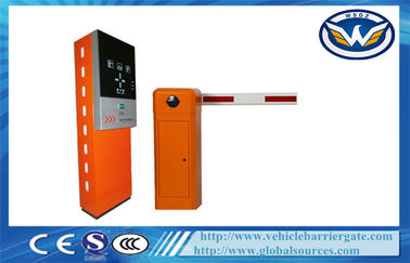 China Car Automated Parking Lot Management System with Barcode Ticket Dispenser and Steel supplier