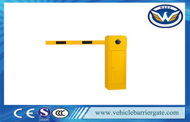 China European Level Design Car Park Barrier Gate With Remote Control Heavy Duty supplier