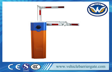 Parking Lot Barrier Gate 90 Degree Folding Arm Used For Toll Parking System