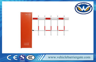 China Vehicle Car Automatic  Barrier Gate Access Control with Two Fence Boom supplier