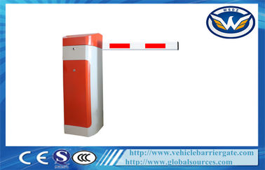 China Automated Parking Vehicle Barrier Gate , car park access barriers Boom Max 6 Meters supplier