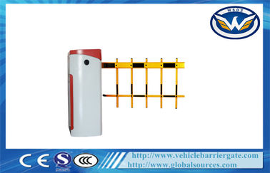 China Practical Use Fence Arm parking lot barrier gates For Vehicle Access Control supplier