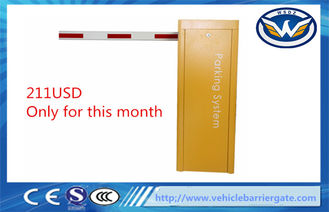 China 1.5M Cold Rolled Steel Sheet Electric Barrier Gate , Auto Car Park Access Barriers supplier