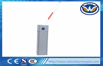 China Grey Color automatic barrier gate / car parking barriers Operator Manual Release supplier
