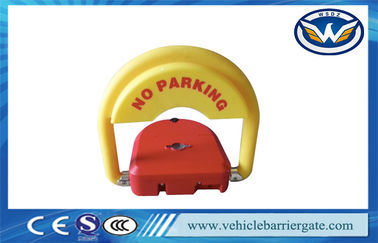 China CE Approved car parking space protector , Remote Control Parking Barrier Lock supplier