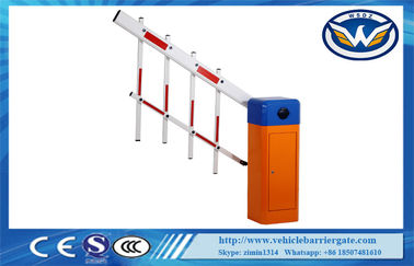 China Intelligent Fence Expandable Vehicle Barrier Gate 100% Pure Copper Heavy Duty Motor supplier