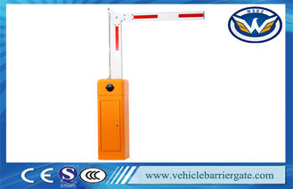 China Nice Design Vehicle Barrier Gate System , Swing Out Arm Automatic Boom Barrier supplier