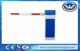 China Updated RFID Photocell Driveway Barrier Gates Swing Out Logo Print supplier