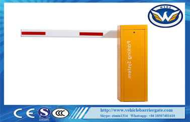 China Access Control Card Reader Boom Barrier Gate Loop Sensor Auto Parking Barrier supplier