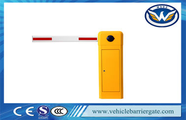 China 1S High Speed Driveway Security Boom Barrier Gate For Parking Lot Safety supplier