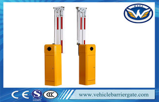 China High Security Barrier Gate Electric Intelligent Boom Barrier With Foldable Barrier Arm supplier