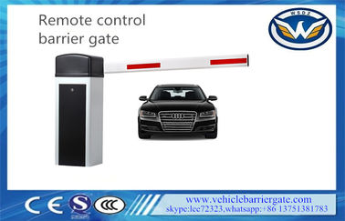 China Wireless Control Driveway Barrier Gates 6s 6m Aluminum Alloy Swing Out supplier