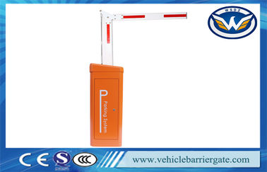 China Remote Control Parking Lot Automatic Barrier Gate System With 24V Servo Motor IP65 supplier