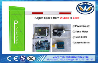 China 4sec 6mts Loop Detector Vehicle Access Barriers With Servo Control System supplier