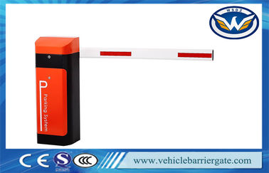 China AC220V / 110V Traffic Barrier Gate Security Parking Boom Gate supplier