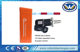 China Parking Vehicle Barrier Gate Remote Control Boom Barrier With 6 Meters Arm supplier