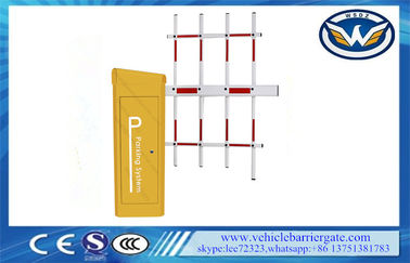 China Automated IP65 Servo Motor Vehicle Barrier Gate 342*312*959mm supplier