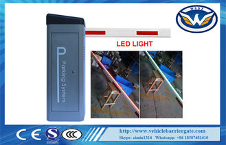 China 24V DC Servo Motor Barrier LED Arm Barrier Parking Gate Fast Speed supplier