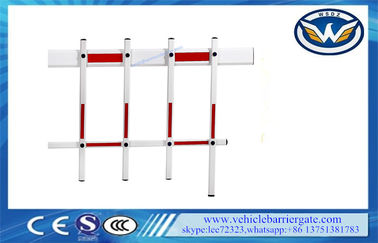 China 5m Two Fence Arm Boom For Barrier Gate , Parking Garage Arm supplier