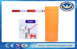 China Automatic Vehicle Barrier Gate Car Parking Barriers For Parking Lot Sensor System supplier
