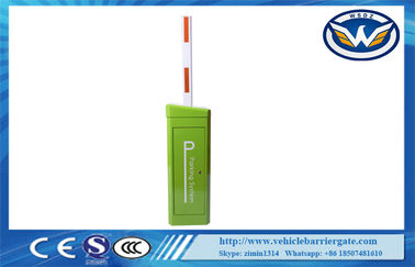 China High Sensitivity Arm Parking Barrier Gate With  Anti - Collision Alarm Signal Interface supplier
