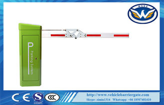 China WONSUN 24V Battery Brushless Servo Automatic Barrier Systems For Parking Lot supplier
