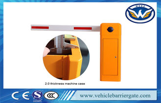 China Electric Parking Lot Arm Barrier Gate System / Car Park Boom Gates supplier