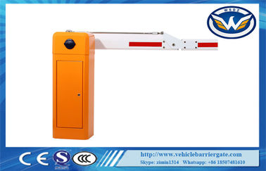 China Swing Out Arm Toll Barrier Gate OEM Parking Boom Gate 60HZ / 50HZ 120W Motor supplier