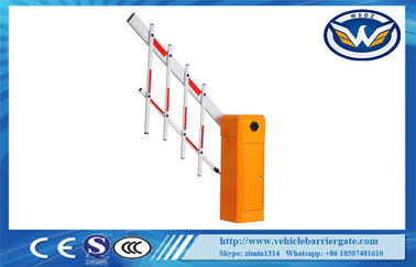China Single Fence Intelligent Barrier Car Parking System SGS Parking Boom Barriers supplier