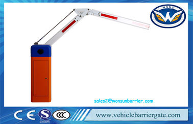 China Vehicle Barrier Gate Vehicle Access Control by Remote Control Car Parking System WSTP-115B supplier