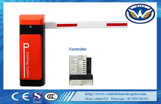 China Car Parking Barrier Gate Bi - Direction Main Shaft Remote Control With CE Certification supplier