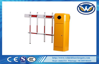 China Remote Control Parking Intelligent Barrier Gate With Fence Boom Arm supplier
