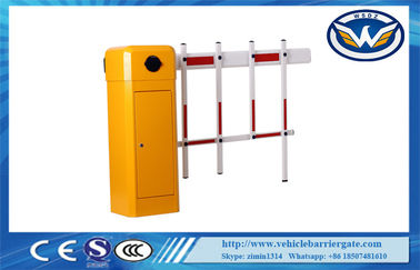 China Intelligent Car Park Security Traffic Barrier Gate , Vehicle Access Control Barrier Gate supplier