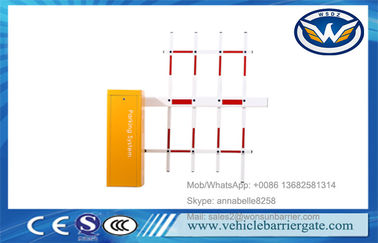 China Vehicle Equipment Boom Automatic Gate Barrier System Fencing Straight Folding Arm supplier