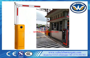 China 8 Meters Boom Barrier Gate Operator Folding Arm Anti Collision Swing Out 90° / 180° supplier