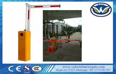 China High Accurate Traffic Barrier Gate Fold Arm 120 Watt For Underground Parking System supplier