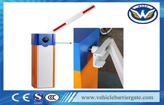 China RFID Vehicle Barrier Gate , Boom Automatic Vehicle Gates For Car Parking System supplier