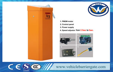 China Highway Station Toll Barrier Gate Solar Powered Parking Access Vontrol Long Lifetime supplier
