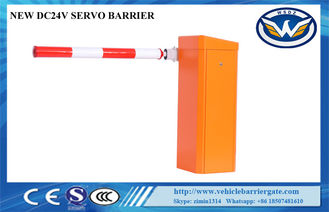 China Traffic Access Control Intelligent Barrier And Gates Solar Power Arm High Sensitivity supplier