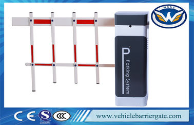 China Remote Control Automatic Parking Barriers , Boom Gate Sytem With AC Motor supplier