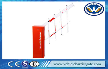 China Highway Station Toll Barrier Gate Cold Roll Steel Sheet Housing With Adjusted Speed supplier