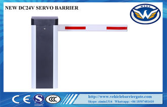 China WS-2 Inverter Motor Parking Lot Barrier Gates , Vehicle Barrier System Speed Adjustable supplier
