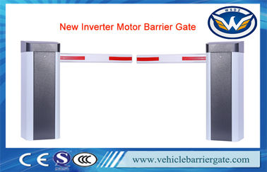 China Anti Crash Vehicle Barrier Gate 100m Remote Control Distance With Flexible Arms supplier